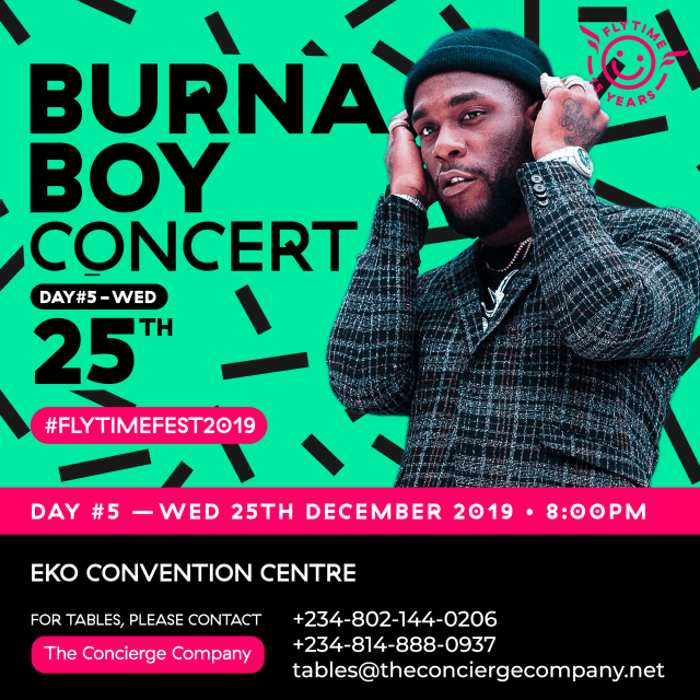 Nigeria: Christmas With Burna Boy Live At Flytime Music Festival 2019